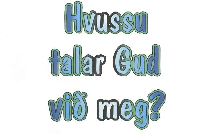 Hvordan høre Gud tale - Plancher (A3) PÅ FÆRØSK