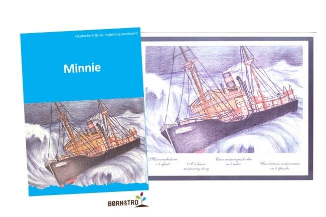 Minnie - Billeder i ringbind og teksthæfte