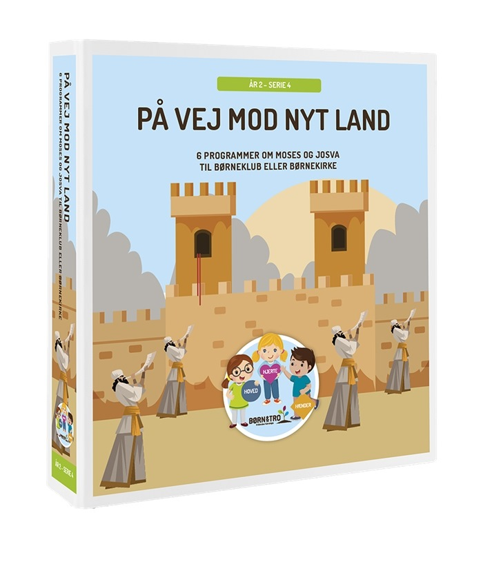 På vej mod nyt land (Moses/Josva) - År 2-4 - Færøsk tillæg