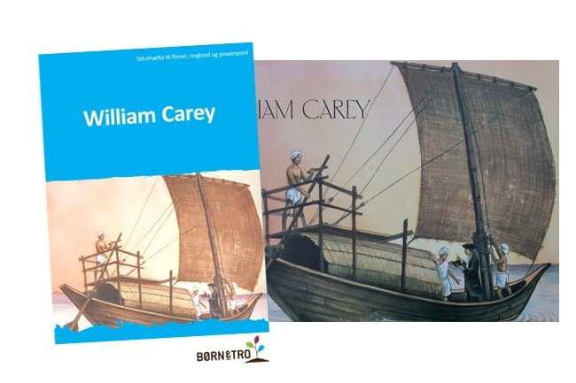 William Carey - Billeder i ringbind og teksthæfte